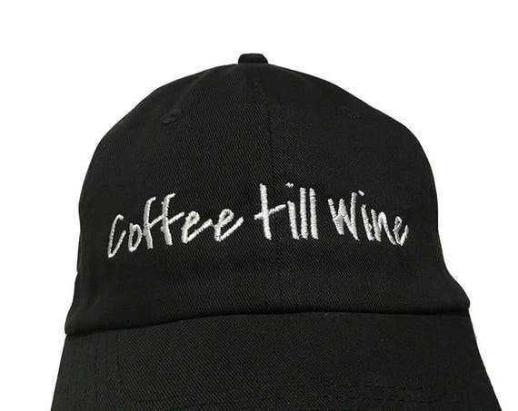 Coffee till Wine (Polo Style Ball available in different colors)