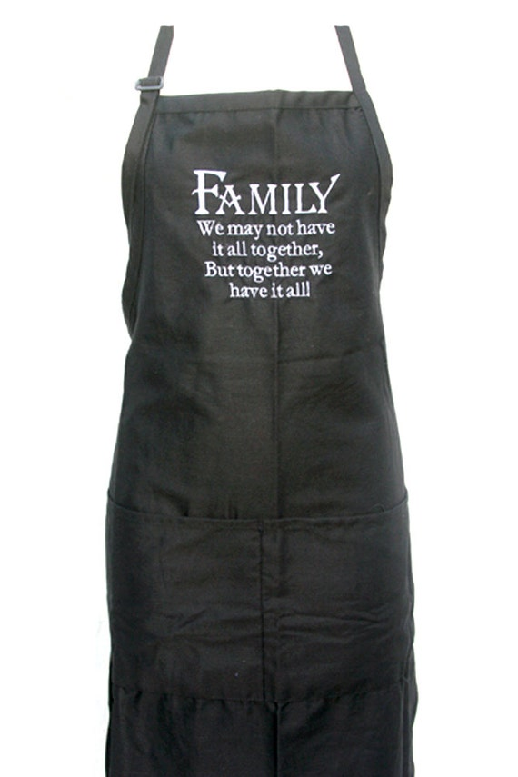 Family, we may not have it all together... (Adult Apron)