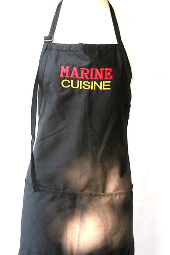 Marine Cuisine (Adult Apron)