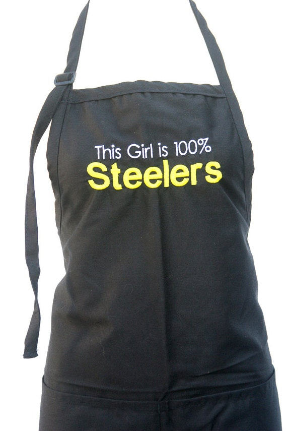 This Girl is 100% Steelers (Adult Apron)