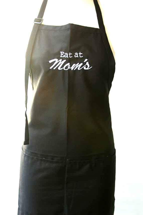 Eat at Mom's (Adult Apron)