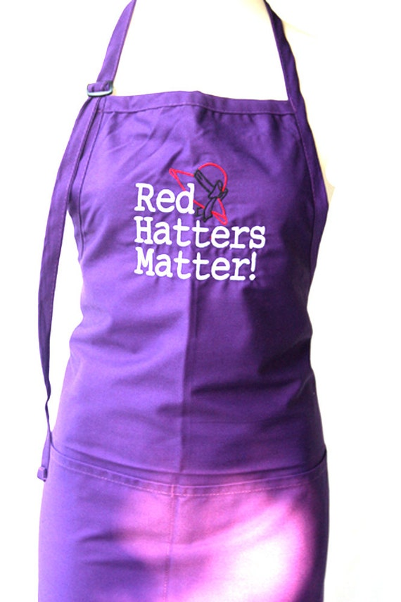 Red Hatters Matter (Adult Apron)