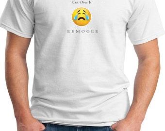 EEMOGEE Get Over It - Mens T-Shirt