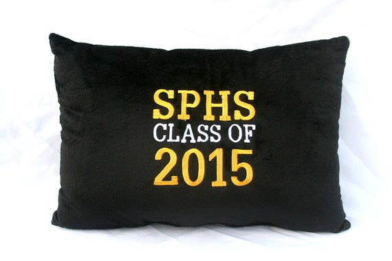 Customized Pillow Class of 2015