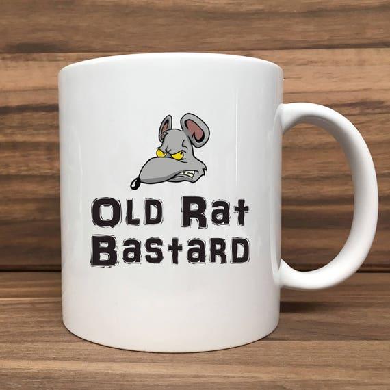 Coffee Mug - Old Rat Bastard - Double Sided Printing 11 oz Mug