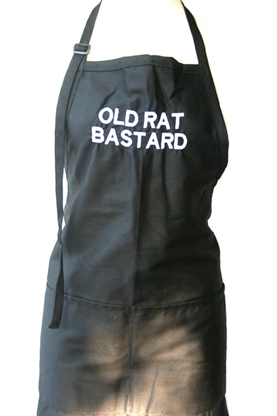 OLD RAT BASTARD (Adult Apron) in Various Colors