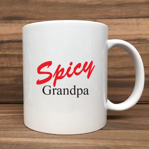 Coffee Mug - Spicy Grandpa - Double Sided Printing 11 oz Mug