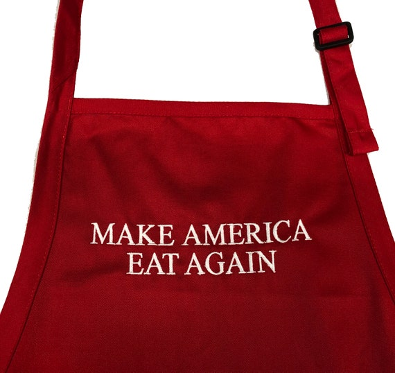 Make American Eat Again (Adult Apron in various colors)