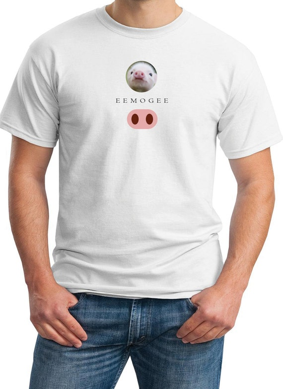 EEMOGEE - Piglett - Mens T-Shirt Emoji