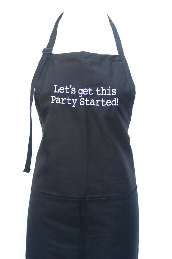 Let's get this Party Started! (Adult Apron)