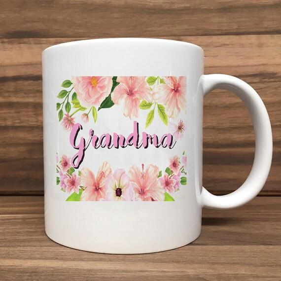 Coffee Mug - Grandma - Double Sided Printing 11 oz Mug