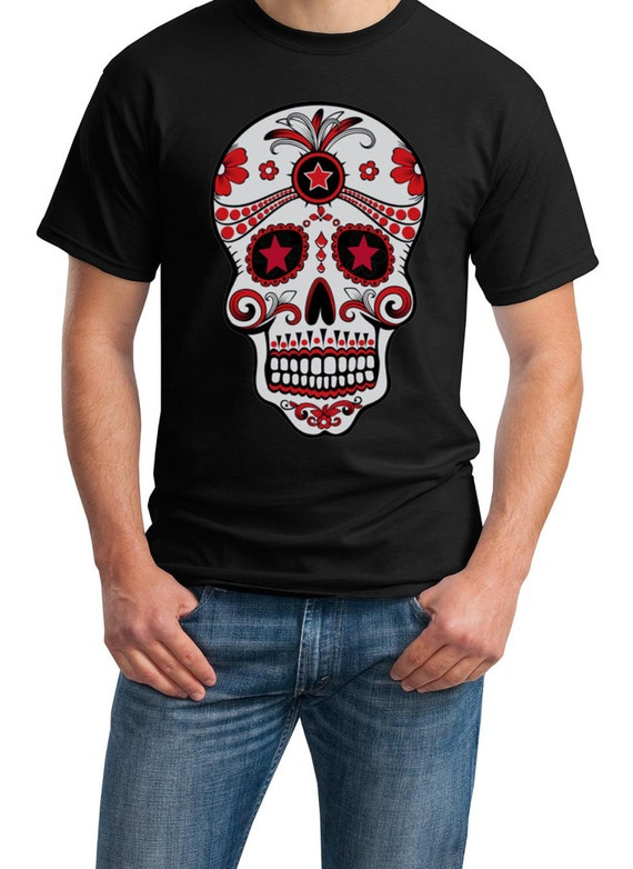 La Dia de Muerta - The Day of the Dead -Skull (in Black, White or Ash)