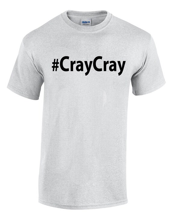 CrayCray (Ash Color T-Shirt)