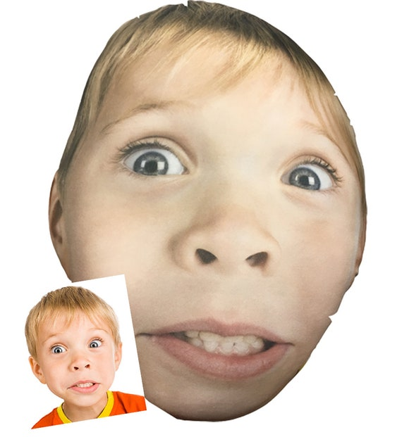 Customized Smush Face Pillow (Your Kids, Or Husbands, or Wifes or Pets... Face on a Pillow)