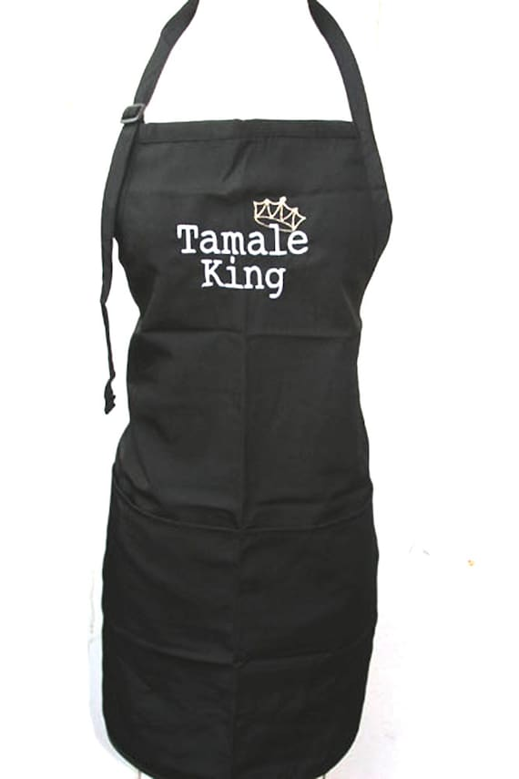 Tamale King with Crown (Adult Apron)
