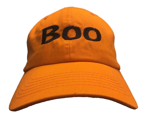 Boo (Embroidered Polo Style Ball Cap available in various colors)
