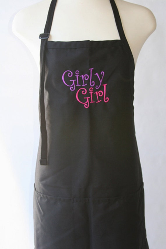 Girly Girl (Adult Apron)