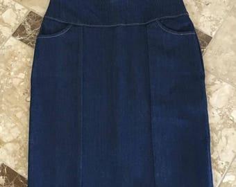 Jean Skirts, Modest Skirt, Denim Skirts