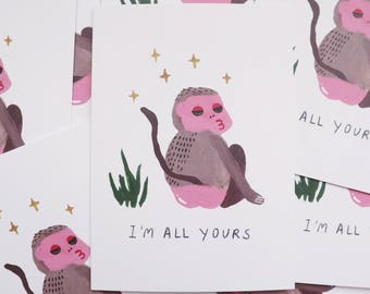 I'm All Yours Card