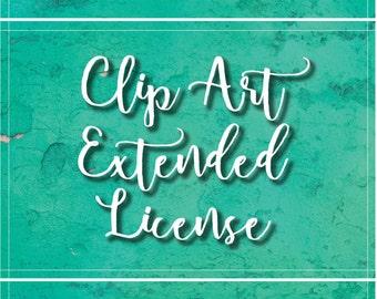 Extended Clip Art License
