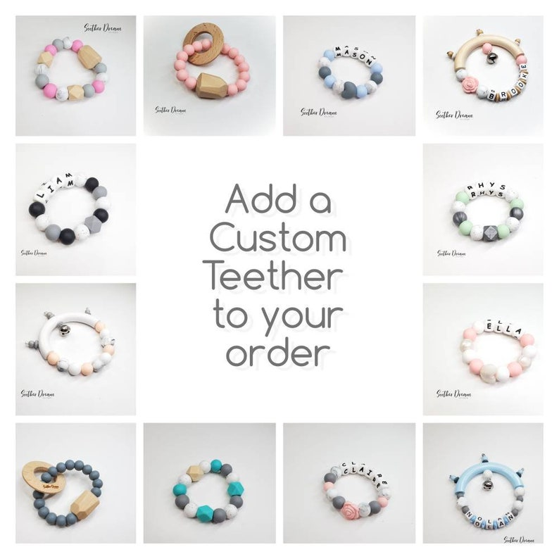 Clear ring for MAM pacifier to attach to pacifierclips  Soother Dream Silicone Pacifier clip adapter ring