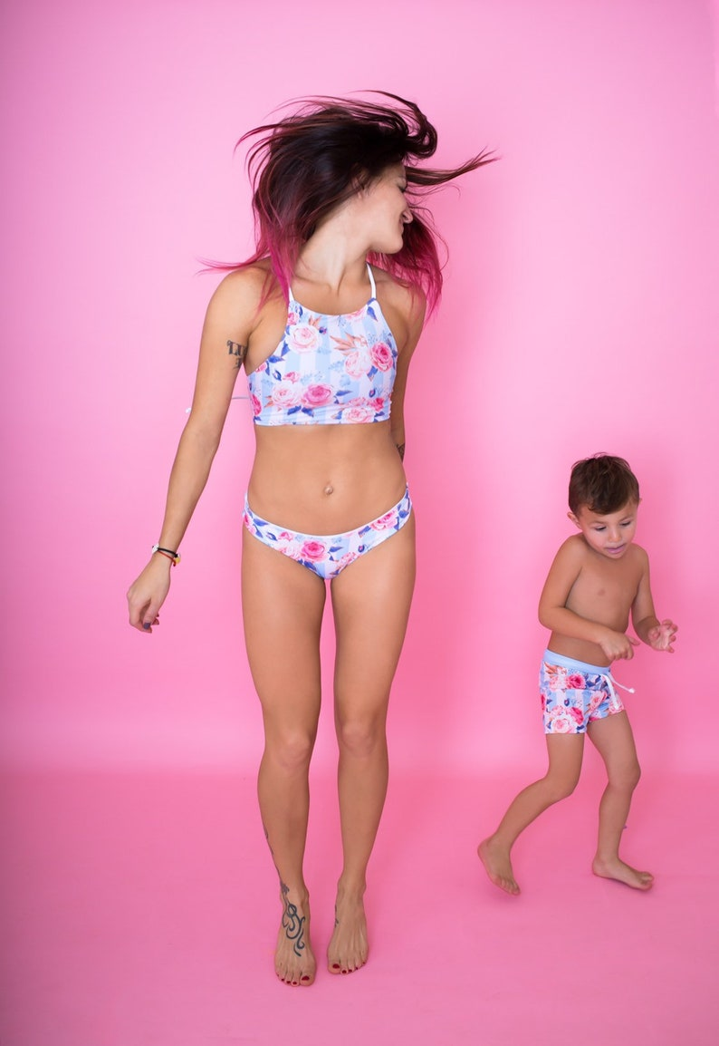 4c8febae55 Mommy and Me Matching Swimsuits Mommy and Son Matching