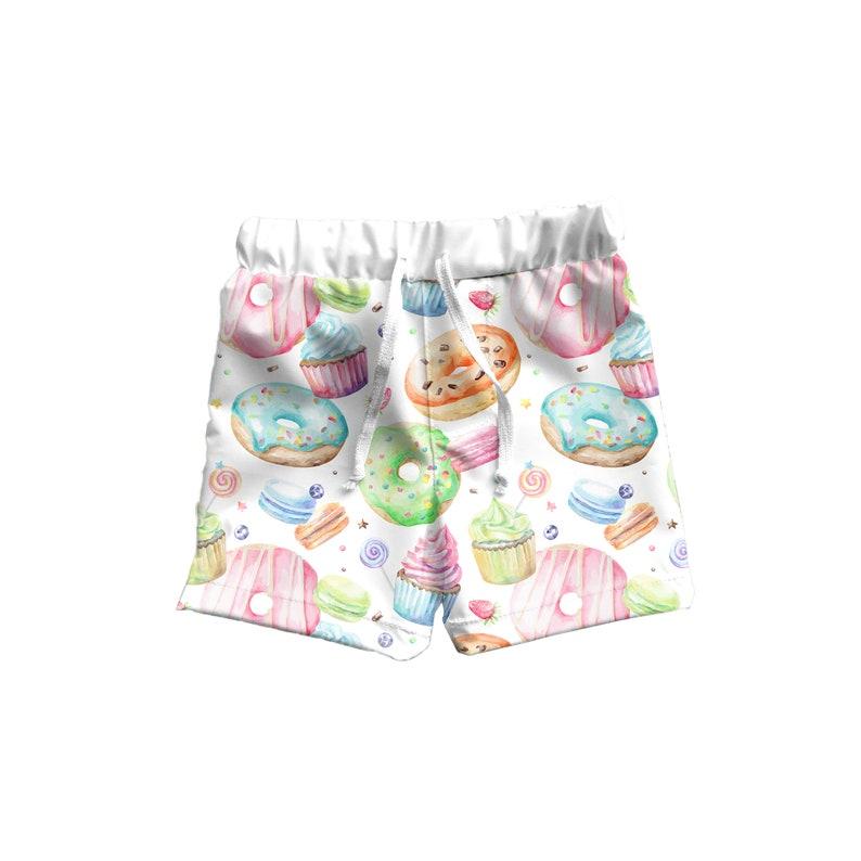 4001587c0c Toddler Boy Boardshorts Kids Boy Swim Shorts Boys Donut | Etsy