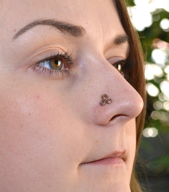 Nose Ring Nose Jewelry Nose Stud Nose Piercing Gold Nose Etsy