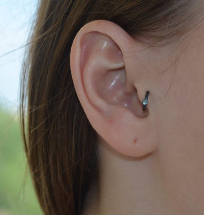 Knorpel Ohrring Helix Ohrring Tragus piercing Knorpel   Etsy