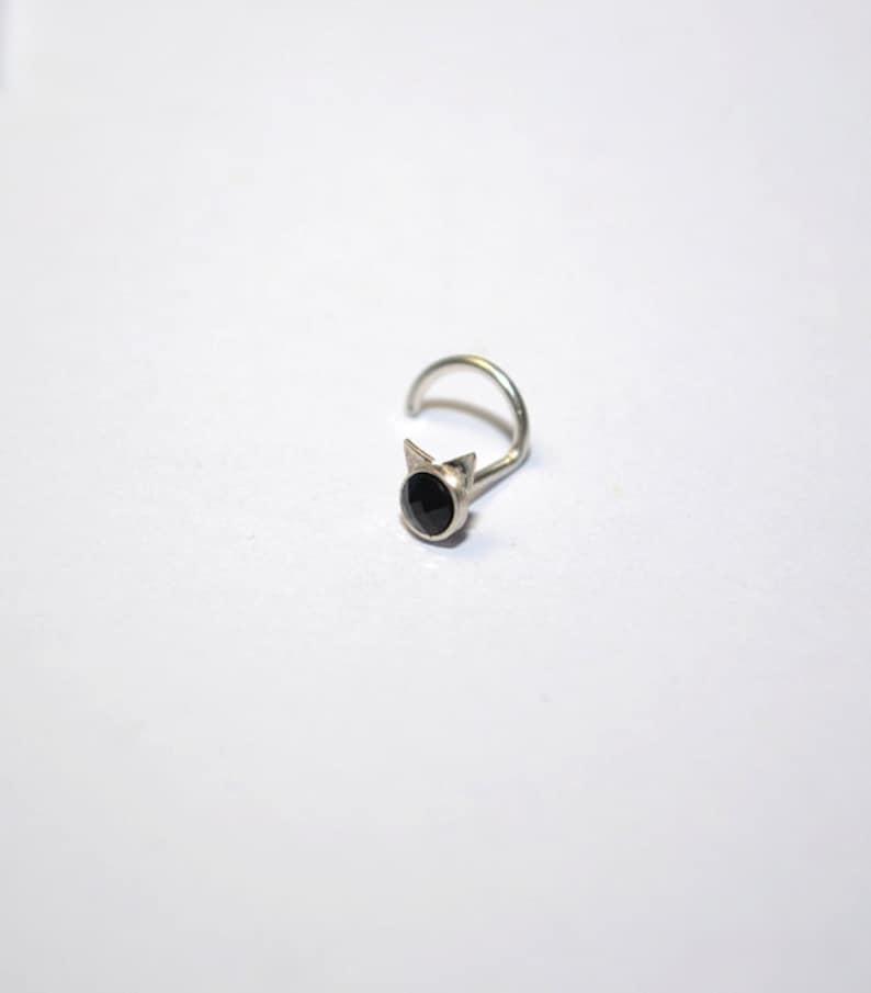 Tiny stud nose ring Nose piercing Nostril ring Silver nose stud Nose stud Nose jewelry Nose Ring Nose stud 18g