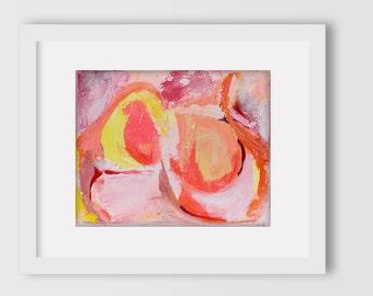 Giclee Print of original painting: Petals