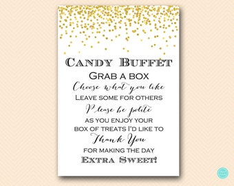candy buffet signs etsy rh etsy com candy buffet signs for weddings candy buffet signs template