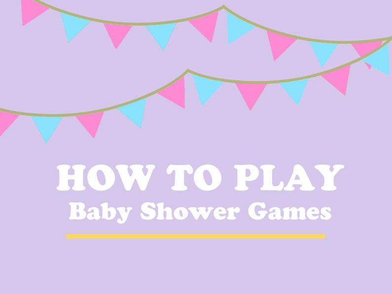 Instructions on How to Play Baby Shower Games & Activities image 0
