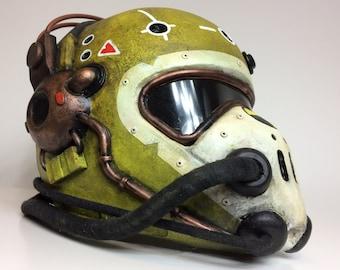 Yellow Flight Helmet inspired Fallout