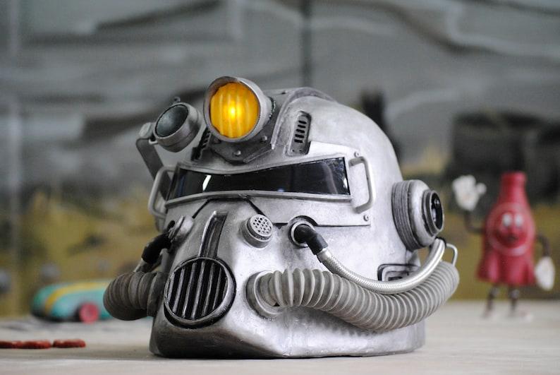 T 51 Helmet Fallout Inspired T51 Powerarmor Etsy
