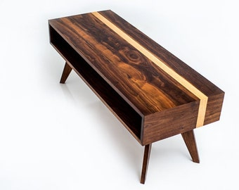 Mid Century Modern Coffee Table, coffee Table, Modern Coffee Table, Walnut Coffee Table, Solid Wood Coffee Table, Coffee Table