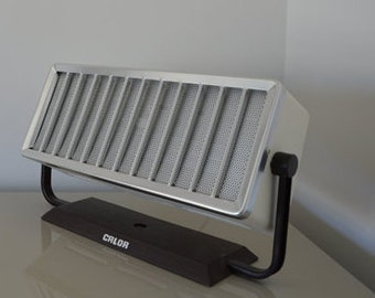 Design lamp from old radiator vintage 70s through upcycling Calor