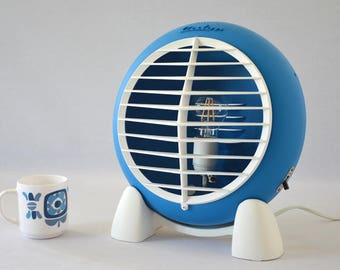 Design lamp from old radiator vintage 60s through upcycling calor