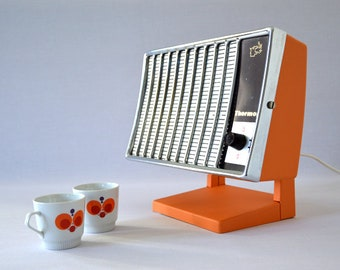 Design lamp from old radiator vintage 70s through upcycling Thermor