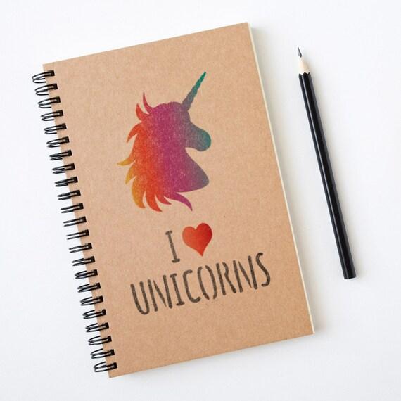 CraftStar I Love Unicorns Stencil Small or Mini Unicorn Quote Craft Template