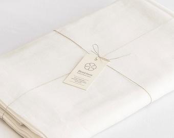 100% Linen Flat Sheet SEAMLESS SUPERWIDE Fabric California King Queen Full Double Twin Single Natural Organic White Flax US Australia