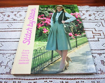 Stitch by Stitch Volume 6 - A Home Library Of Sewing Knitting Crochet and Needlecraft Craft Hardcover Book Crocheting Patterns Torstar