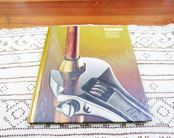 Vintage Plumbing Home Repair And Improvement By Time-Life Books Hardcover Book Projects How To Repair & Remolding