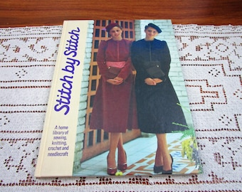 Stitch by Stitch Volume 14 - A Home Library Of Sewing Knitting Crochet and Needlecraft Craft Hardcover Book Crocheting Patterns Torstar