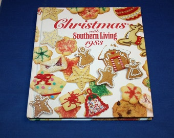 Vintage 1983 Christmas with Southern Living Cook Book Christmas Holiday Craft Decoration Book Recipes Patterns Cookbook Recipe Crafts