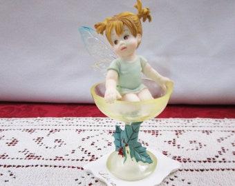 Vintage Enesco Sweet Desserts Fairy, My Little Kitchen Fairies, 113349 Knick Knack Collectible Figure Figurine G.G. Santiago