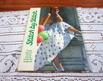 Stitch by Stitch Volume 20 - A Home Library Of Sewing Knitting Crochet and Needlecraft Craft Hardcover Book Crocheting Patterns Torstar