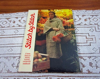 Stitch by Stitch Volume 16 - A Home Library Of Sewing Knitting Crochet and Needlecraft Craft Hardcover Book Crocheting Patterns Torstar