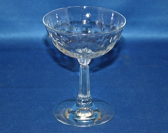 Vintage Spinet Low Sherbet Glass by Fostoria circa 1950's Cordial Glass Champagne Spinet pattern 821 Wine Glass Bar Barware Tableware