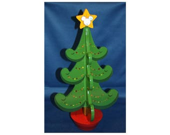 Walt Disney Collectible Christmas Music Box Advent Pin Tree INCLUDES #25 Finishing Pin LE 1000 Mickey Mouse Tinkerbell Tinker Bell Pin